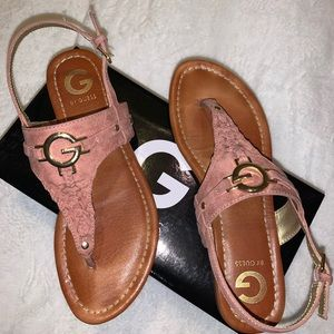 G by Guess thongs sandals